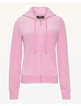 Luxe Juicy Crown Velour Robertson Jacket by Juicy Couture