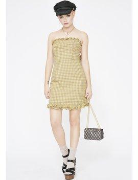 Little Miss Sunshine Plaid Dress by Skylar Madison