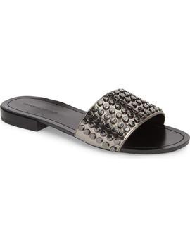 Kelsy Slide Sandal by Kendall + Kylie