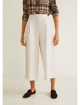 Pockets Cotton Dungarees by Mango