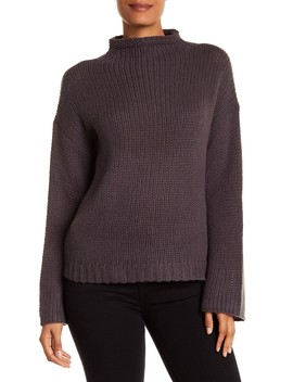 Nikki Mock Neck Cashmere Sweater by 360 Cashmere