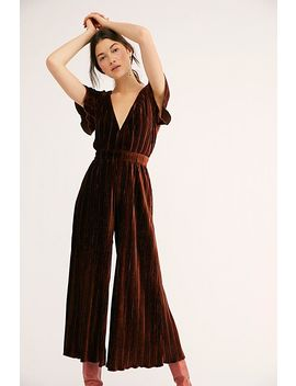 Lex Velvet Jumpsuit by Free People