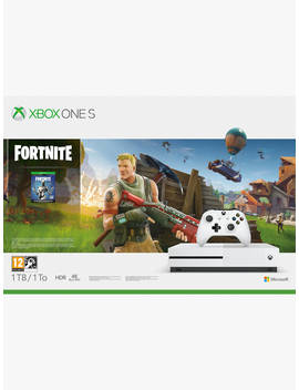 Microsoft Xbox One S Console, 1 Tb, With Wireless Controller And Fortnite Game Bundle by Microsoft
