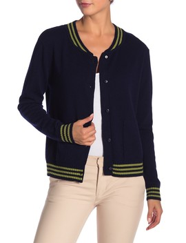 Button Front Cashmere Cardigan by Knyt & Lynk
