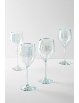 Set Of 4 Narita Wine Glasses by Anthropologie