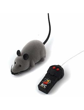 Forum Novelties Rat Toy, Peach Fye Rc Funny Wireless Electronic Remote Control Mouse Rat Pet Toy For Cats Dogs Pets Kids Novelty Gift by Forum Novelties