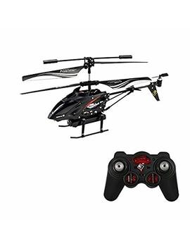 Wltoys S977 3.5 Ch Metal Radio Control Gyro Rc Helicopter With Video Camera by W Ltoys