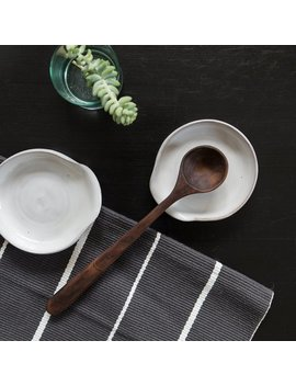 Spoon Rest In Grey/White by Etsy