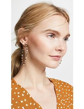 Elise Hoop Earrings by Bauble Bar