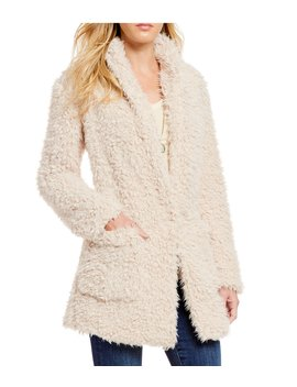 Fur Mix A Lot Teddy Faux Fur Jacket by Bb Dakota