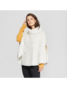 Women's Poncho Sweater   Universal Thread™ Gray by Universal Thread