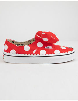 Disney X Vans Minnie's Bow Authentic Gore Womens Shoes by Vans
