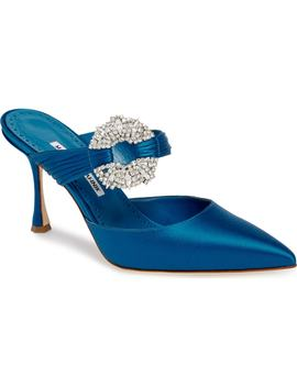 Maidugur Jewel Mule by Manolo Blahnik