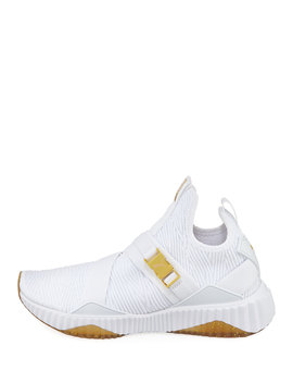 Defy Fabric Buckle Sneakers by Puma