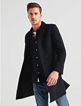 Wool Car Coat by Lucky Brand
