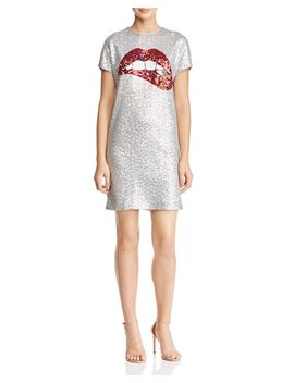 Sequined Shift Dress by Aidan By Aidan Mattox