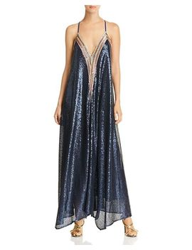 Sequined Maxi Dress   100 Percents Exclusive by Happily Grey X Aqua