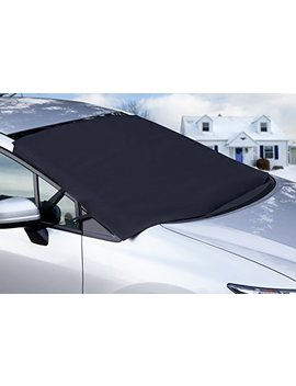 Ox Gord Windshield Snow Cover Ice Removal Wiper Visor Protector All Weather Winter Summer Auto Sun Shade For Cars Trucks Vans And Su Vs Stop Scraping With A Brush Or Shovel by Ox Gord
