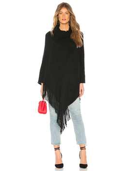 Draped In Texture Poncho by Michael Stars