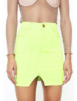Feel Good Mini Skirt by Salty
