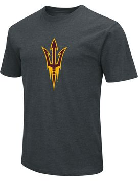 Colosseum Men's Arizona State Sun Devils Dual Blend Black T Shirt by Colosseum