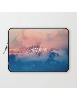 Stay Rocky Mountain High Laptop Sleeve by