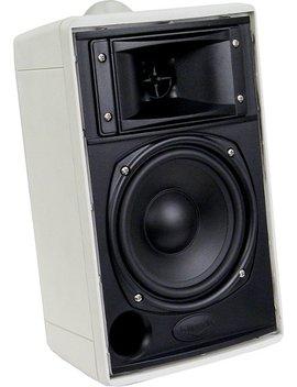 2 Way Indoor/Outdoor Speakers (Pair)   White by Klipsch