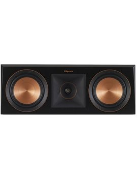 """Reference Premiere Dual 5 1/4"""" 400 Watt Passive 2 Way Center Channel Speaker   Ebony by Klipsch"""