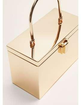 Metall Coffer Bag by Mango