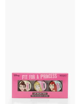 Disney Princess Lip Balm Trio by Boohoo