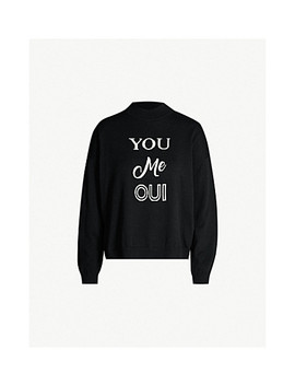 You Me Oui High Neck Cotton Jumper by Whistles