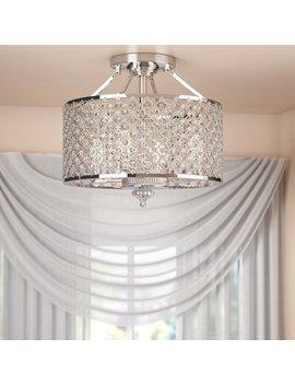 Willa Arlo Interiors Harrell 4 Light Semi Flush Mount & Reviews by Willa Arlo Interiors