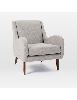 Sebastian Chair, Deco Weave, Feather Gray by West Elm