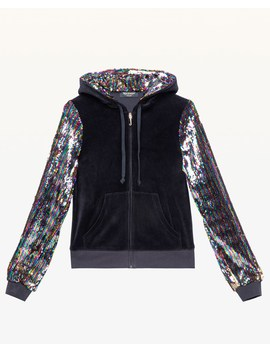 Candy Glam Sequin Velour Robertson Jacket by Juicy Couture