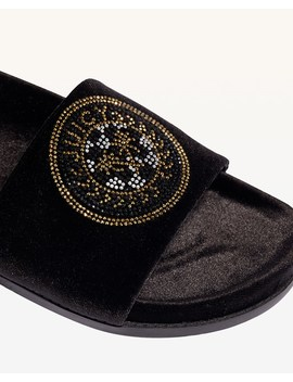 Clarissa Velvet Slide by Juicy Couture