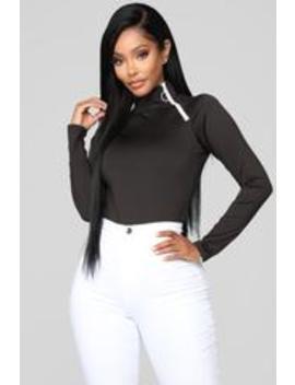 No Rules Bodysuit   Black by Fashion Nova