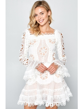 Alexandra Romantic Lace Dress by Racine Love, California
