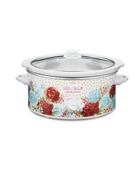 Pioneer Woman 5 Quart Slow Cooker Blossom Jubilee | Model# 33056 By Hamilton Beach by The Pioneer Woman