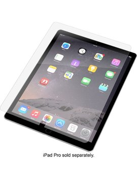 """Invisible Shield Hd Glass Screen Protector For Apple® I Pad® Pro 12.9""""   Clear by Zagg"""