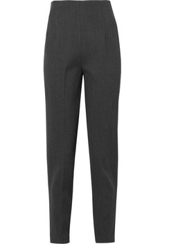 Cat Stretch Wool Twill Tapered Pants by The Row
