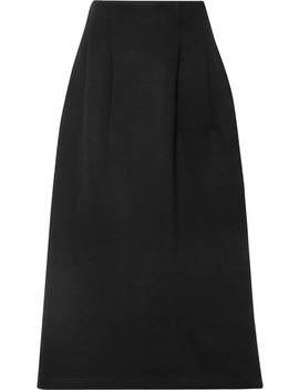 Lantely Scuba Midi Skirt by The Row