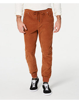 Men's Corduroy Jogger Pants, Created For Macy's by American Rag