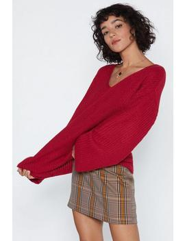Knit My Problem Relaxed Sweater by Nasty Gal