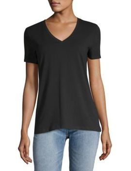 V Neck Tee by Saks Fifth Avenue