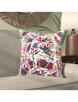 Bungalow Rose Ranjeeta Cotton Pillow Cover by Bungalow Rose