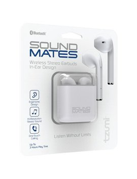 Tzumi Sound Mates Bluetooth Earbuds With Protective Charging Case by Tzumi