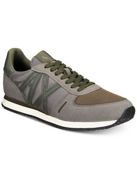 Men's Ax Jogger Sneakers by Armani Exchange