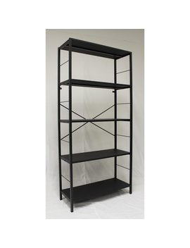Ebern Designs Lavinia 4 Tier Etagere Bookcase by Ebern Designs