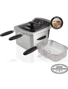 Farberware 4 L Deep Fryer, Stainless Steel by Farberware