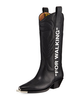 For Walking Western Boots by Off White
